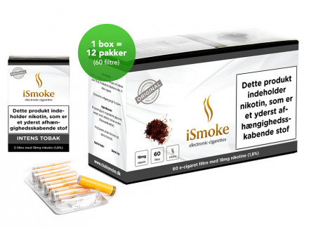 iSmoek Premium Filter - Intens Tobak