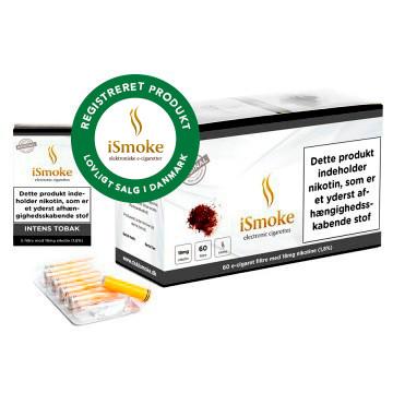 iSmoke® Premium Filter - Intens Tobak  Sikkerhedsstyrelsen