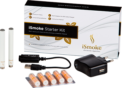 E-Cigaret Start Kit fra iSmoke