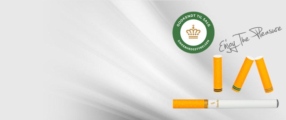 iSmoke Premium Filtre, Godkendt af Sikkerhedsstyrelsen
