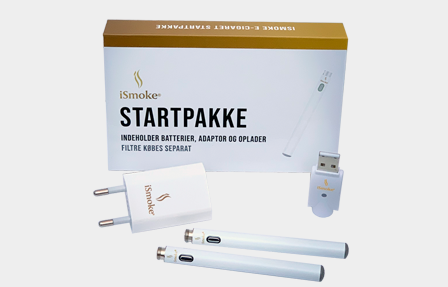iSmoke® E Cigaret StartPakke