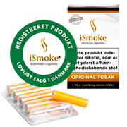 iSmoke Premium Filtre - Original Tobak